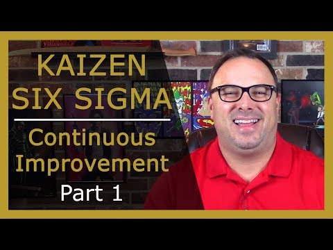 Kaizen Six Sigma - Company Improvement Suggestions (1 of 2)