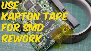 Use Kapton Tape as a Mask For SMD Soldering