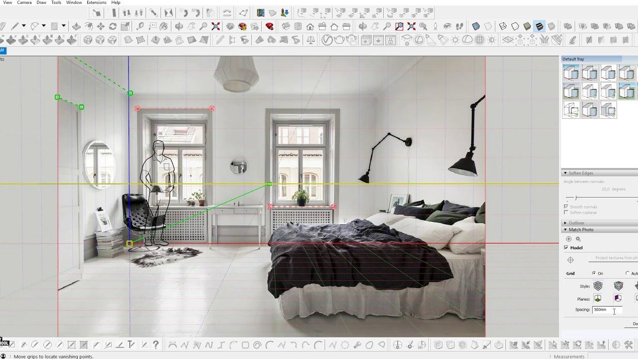 Sketchup работа с моделями модели онлайн хабаровск