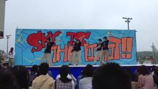 2013年岩東祭2日目中庭有志 果汁グミ Lockin