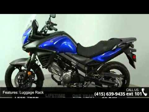 2013 Suzuki V Strom 650 Dl650 Abs Touring Bike Only 30 Mi Youtube