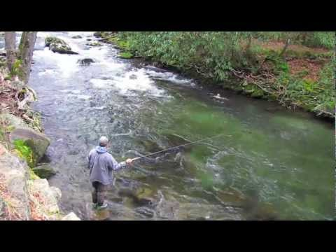 Fly Fishing With Tenkara In The Smoky Mountains