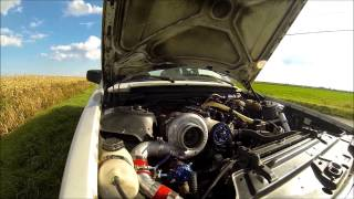 Volvo 240 with Holset turbo trailer