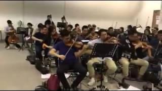 李克勤 綵排,星期三show,<一個都不能少>管弦樂團版本