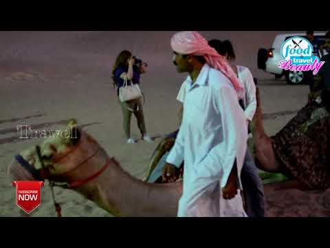 Dubai Desert safari camel ride 2021 || camel ride for free in desert safari || ride