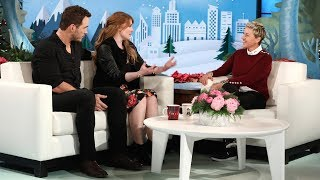 Chris Pratt & Bryce Dallas Howard Tease the