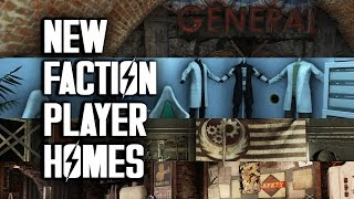 New Faction Player Homes - PC, XB1 - Fallout 4 Mods