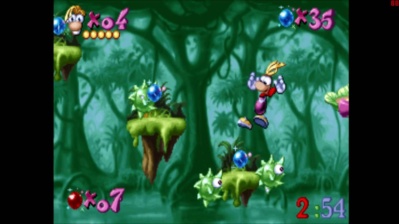Rayman Designer Level Of The Jungle Youtube Switch Legends English Pal Games
