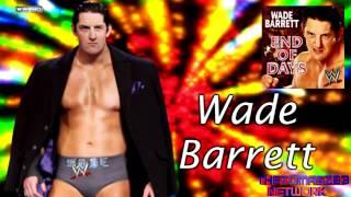 "WWE Wade Barrett Theme Song 2012 ""End Of Days"" Lyrics"