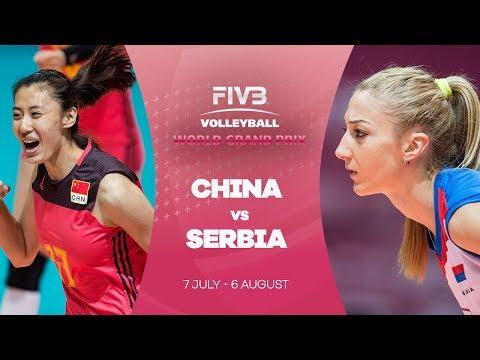 China v Serbia highlights - FIVB World Grand Prix