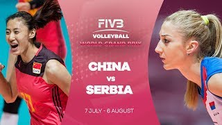 China v Serbia highlights - FIVB World Grand Prix