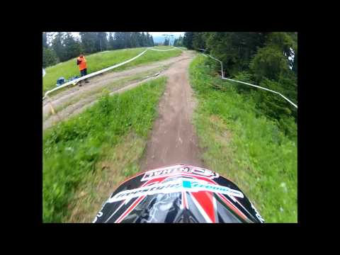 Rob Smith riding Borovets, Bulgaria 2013