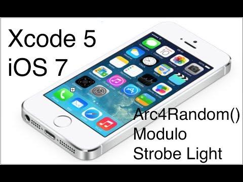 differently 7a19e 03bbd Xcode 5 iOS 7 iPhone Development Tutorial - arc4random, modulo, STROBE  LIGHT!