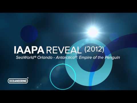 Oceaneering Entertainment Systems: IAAPA 2012 SEAWORLD ANTARCTICA VEHICLE REVEAL