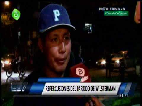 River Plate 8 - 0 Wilster, hablan los hinchas en Cochabamba