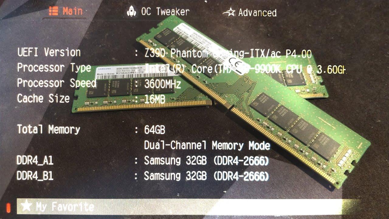 Samsung 32GB DDR4 UDIMM   [H]ard Forum