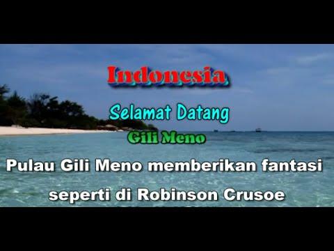 Wisata Indonesia : Pulau Gili Meno Lombok Indonesia, Mopon ID
