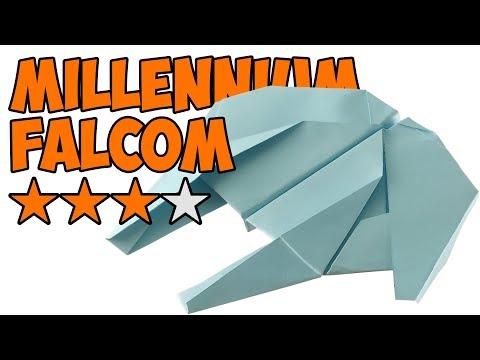 Как сделать самолет из бумаги, лучшие модели. Star Wars Millennium Falcon