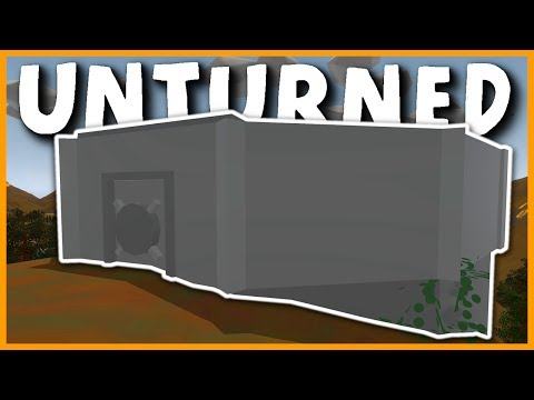 CRAZY HIDDEN FLOOR BASE RAID! WE GOT COUNTER RAIDED! (Unturned Vanilla Base Raids)