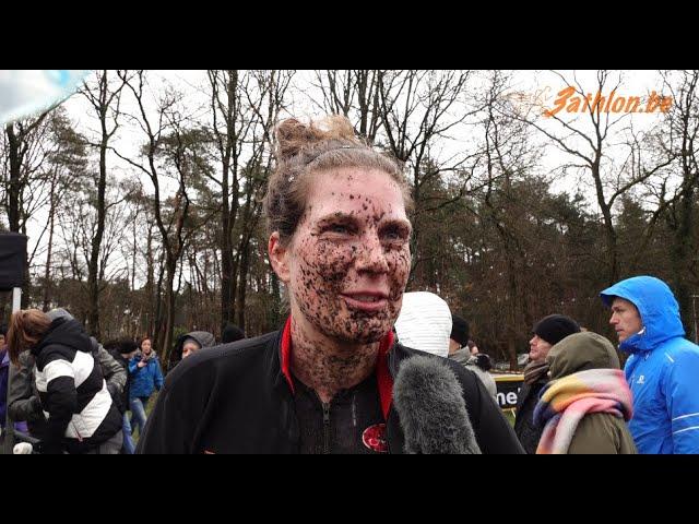 Judith Visser wint crossduatlon in Retie 2020