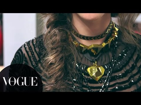 Making of Jean Paul Gaultier's Autumn/Winter '15 Couture Collection with Swarovski | VOGUE India