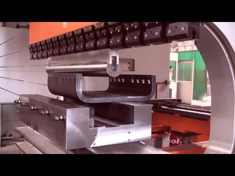 Листогибочный пресс Speed Bend 3100X800 Гибка стали 45мм