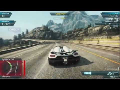 NFS Most Wanted 2012 - Koenigsegg Agera R (2) - 1080p