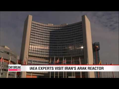 IAEA experts visit Iran's Arak reactor