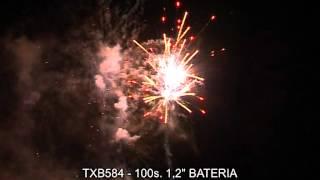 """Fajerwerki TXB584 Bateria 100s 1.2"""" Triplex"""