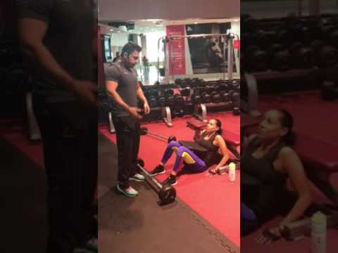 PT Diaries - Barbell Hip Thrusts with Donia