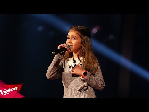 Ana - Evil like me | Audicionet e Fshehura | The Voice Kids Albania 2018