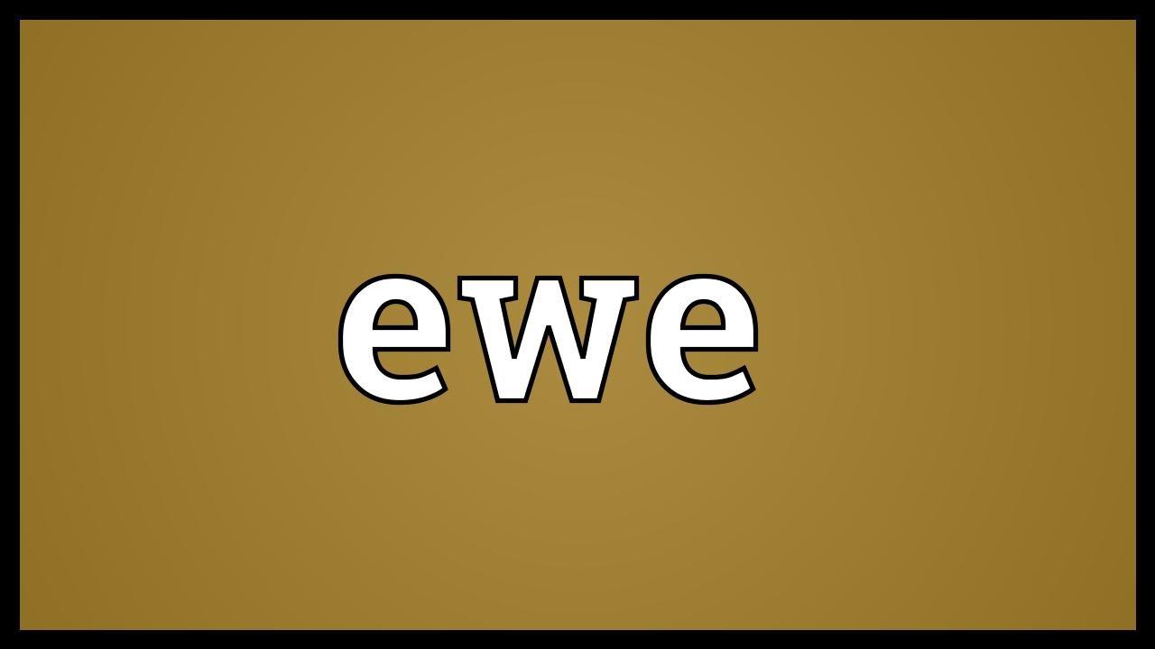 Ewe Meaning
