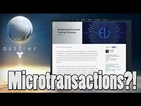 Bungie Introduces Microtransactions in Destiny?!