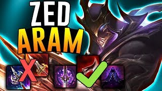 DON'T BUY THE NEW LETHALITY ITEMS ON ZED!! - Zed ARAM - League Of Legends