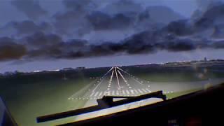 X-Plane 11 VR: B738(Zibo) landing at Sankt Peterburg  Pulkovo (ULLI)