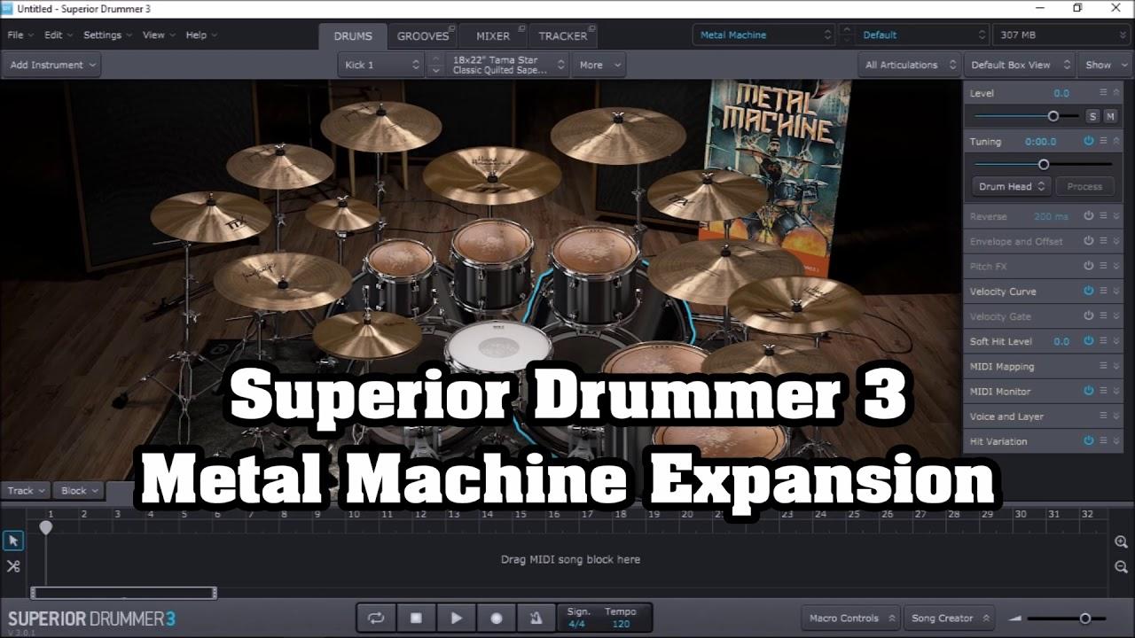 Ezdrummer Vs Superior Drummer : metal machine ezdrummer 2 vs superior drummer 3 metal tones youtube ~ Russianpoet.info Haus und Dekorationen