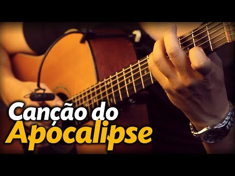 🎵 CANÇÃO DO APOCALIPSE Violão FINGERSTYLE Revelation Song  Avivah  Diante do Trono