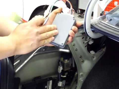 Lexus LS400 SC300 SC400 ES300 GS300 Remote Key Replacement Kit - YouTube