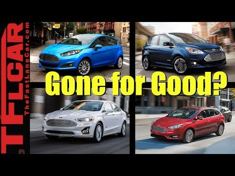 RIP Cars: Ford Kills These Five Cars - Is This The End of Ford Cars?