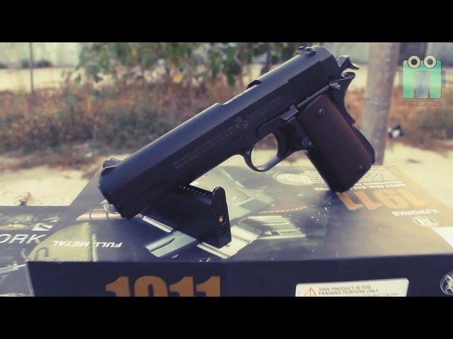 Airsoft Gun | Handgun |  KJW M1911 Review
