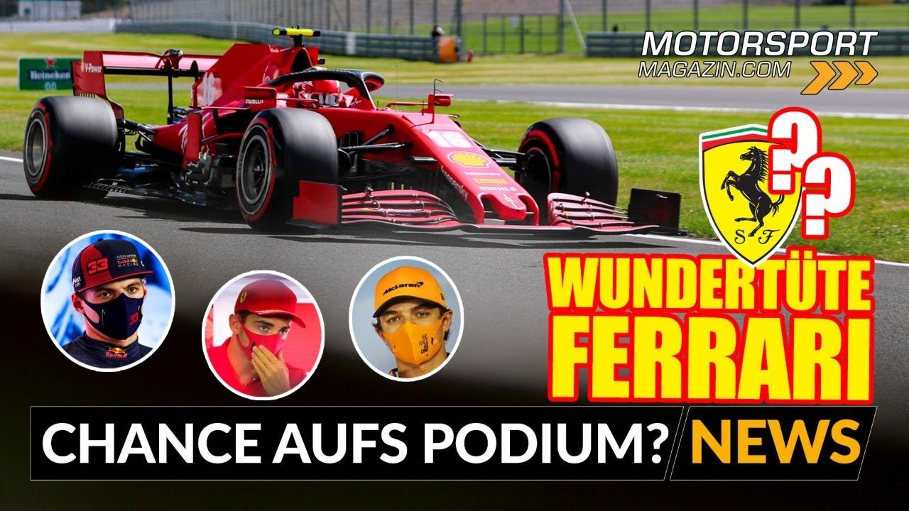 Wundertüte Ferrari: Chance auf Überraschungs-Podium?