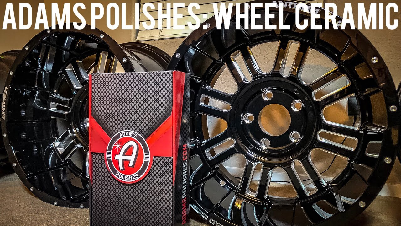 Adams Polishes Wheel Ceramic Coating Application And