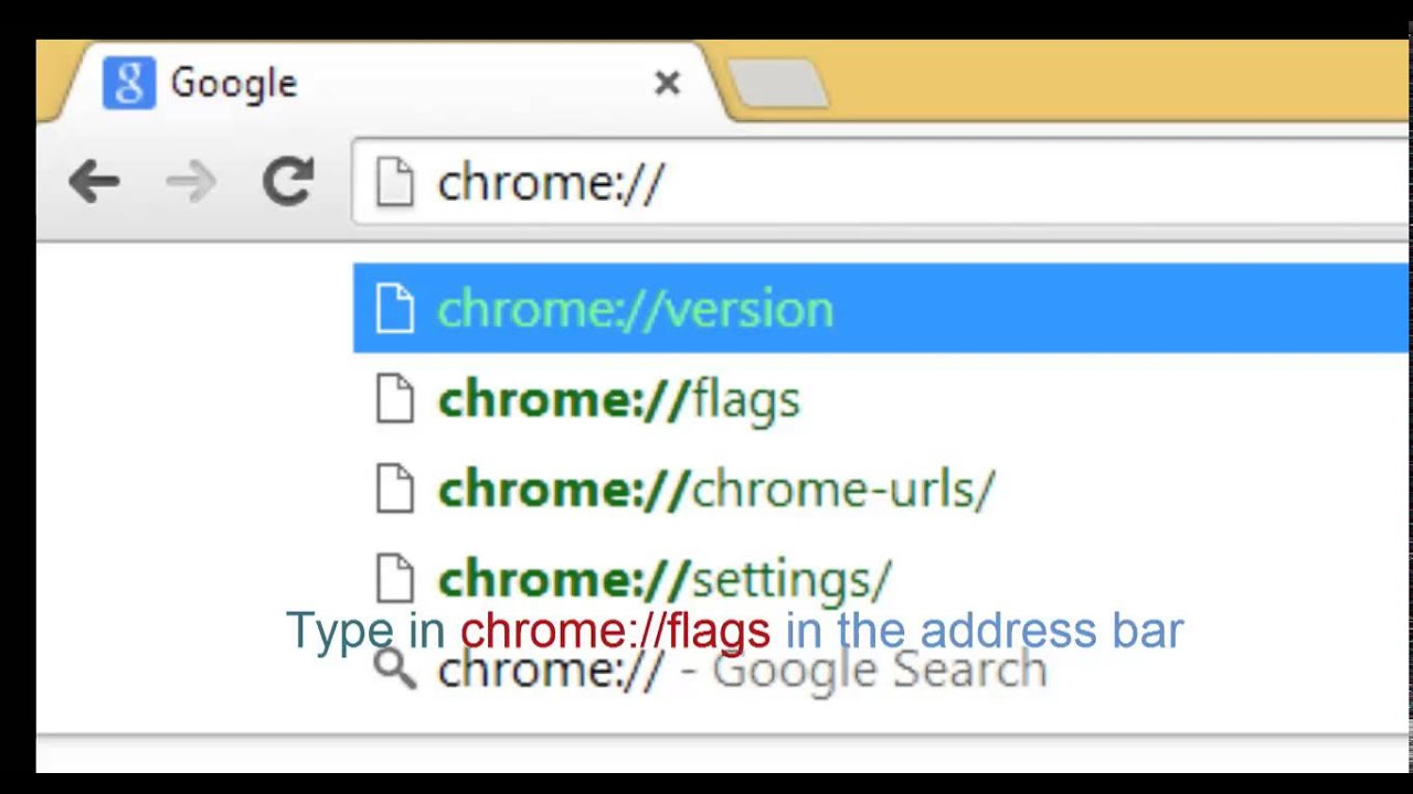 how to make address bar smaller in chrome