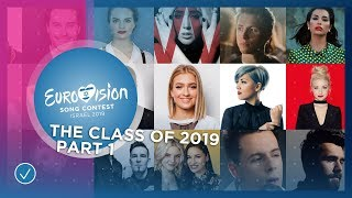 The Eurovision Class of 2019: Part 1 - The Participants