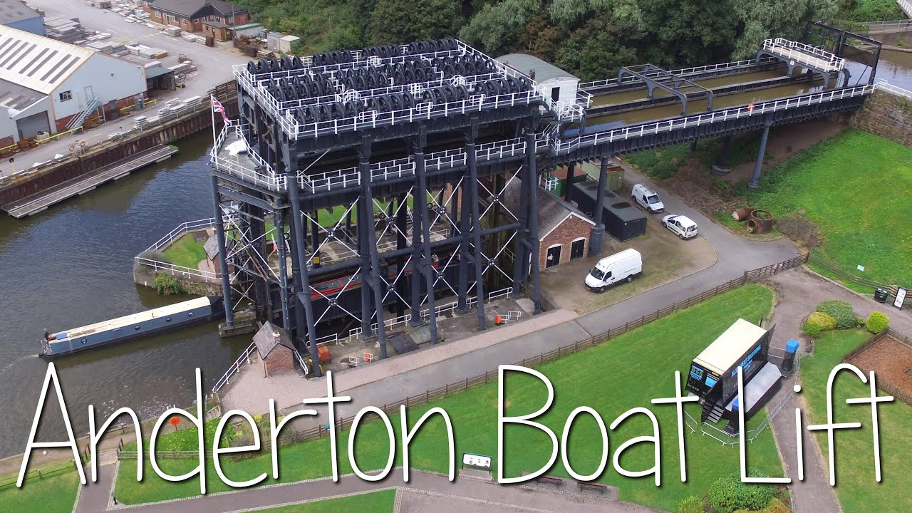 Anderton Boat Lift, Northwich - YouTube