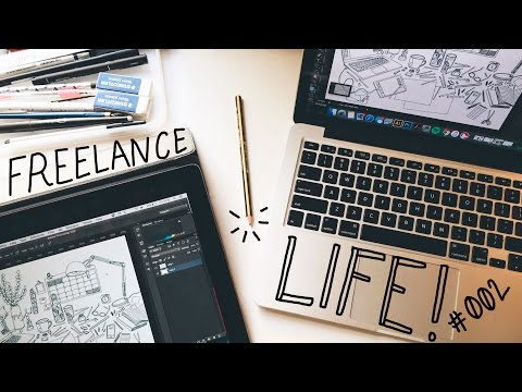 DAY IN THE LIFE #002 — FREELANCE ILLUSTRATOR