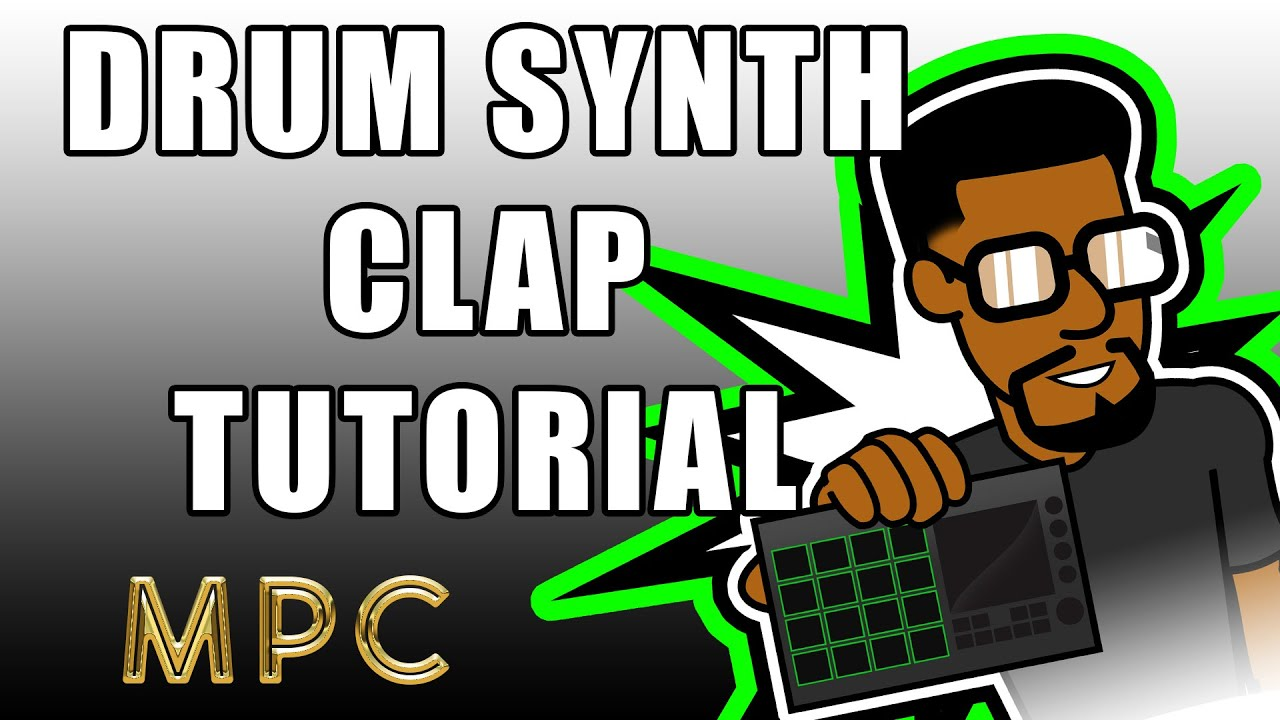 MPC Drum Synth Clab Sound Tutorial and Overview