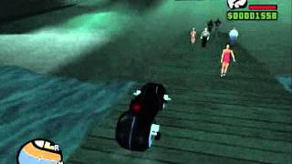 GTA San Andreas Tron mod