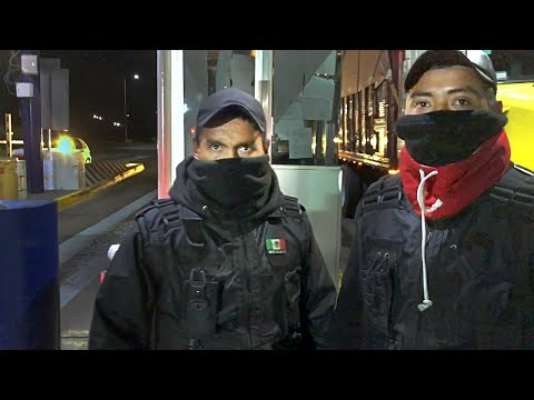 Masked toll plaza thugs attack us on highway in Mexico