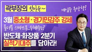 곽부장은 핫이슈! 3월 중소형·경기민감주 강세! / 반…